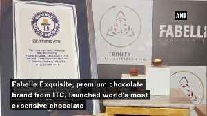 ITC Fabelle launches worlds most expensive chocolate [Video]