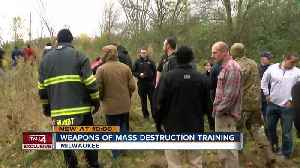 Exclusive: FBI leads weapons of mass destruction training before DNC [Video]