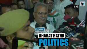 'Savarkar put forward proposal to divide country': Bhupesh Baghel [Video]