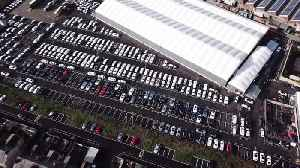 Drone captures what could be Britain's most expensive car park [Video]