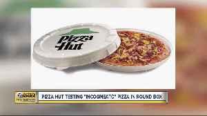 News video: Pizza Hut testing 'incogmeato' pizza in round box