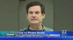 Trending: Actor Henry Thomas Arrested [Video]