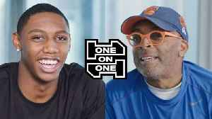 RJ Barrett and Spike Lee Have an Epic Conversation [Video]