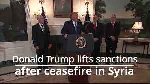 Donald Trump lifts sanctions on Turkey over ceasefire pledge in Syria