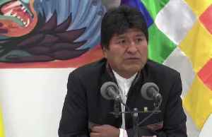 Bolivia's Morales blasts opposition 'coup' amid election standoff [Video]