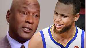 Steph Curry RESPONDS To Michael Jordan's SHADY Comments About Him Not Being A Hall Of Fame Player! [Video]