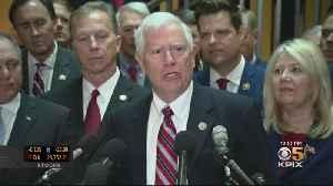 Republican Congressmen Storm Impeachment Inquiry Hearing [Video]