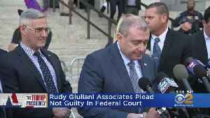 Giuliani Associates Plead Not Guilty [Video]