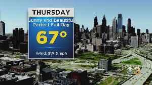 Philadelphia Weather: Quiet End To The Week [Video]