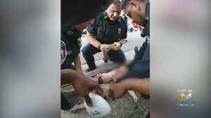 Hero Police Officers Saves Baby From Choking [Video]