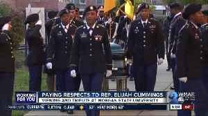 Paying respects to Rep. Elijah Cummings [Video]