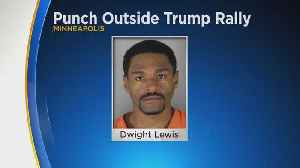 Man Charged With Assault For Punch Outside Trump Rally [Video]