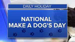 Daily Holiday - 10-22-2019 - National Make a Dog's Day [Video]