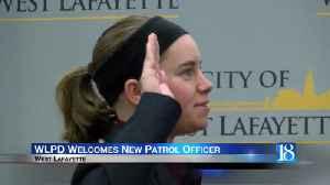 West Lafayette Police Department swears in new patrol officer [Video]