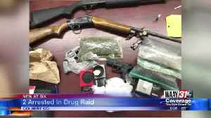 2 Arrested In Drug Raid [Video]