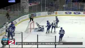 Comets hot start stems from strong play throughout entire line-up [Video]
