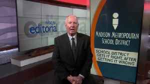 Editorial: MMSD gets it right after getting it wrong [Video]