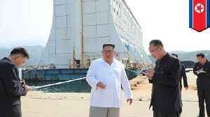 Kimmy orders S. Korean built hotels at resort destroyed [Video]