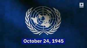 This Day in History: The United Nations Is Born (October 24th) [Video]
