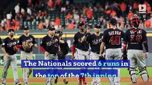 Nationals Take 2-0 World Series Lead Behind Wild 7th Inning [Video]