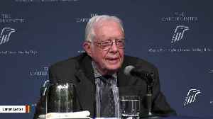 Jimmy Carter Released From Hospital After Fall [Video]