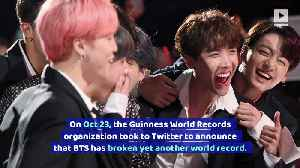 BTS Breaks Another World Record [Video]