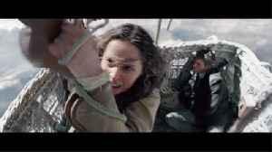 Felicity Jones, Eddie Redmayne, Himesh Patel In 'The Aeronauts' New Trailer [Video]