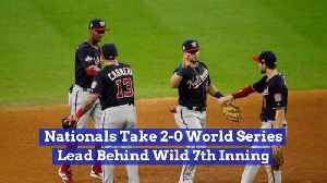 The Washington Nationals Could Get The World Series Title [Video]