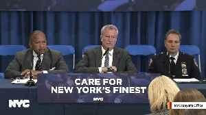 NYC Mayor Bill de Blasio: We'd Arrest Trump If He Actually Shot Someone [Video]