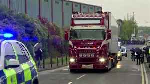 UK police move truck found with 39 bodies inside [Video]