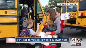 Park Hill School Board to vote on new start times Thursday [Video]