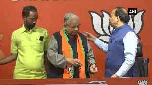 Former Congress leader Ammar Rizvi joins BJP in Delhi [Video]