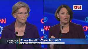 Reality Check: Is Klobuchar Right About 'Medicare For All'? [Video]