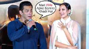 FUNNY Moments Of Salman Khan @ Dabangg 3 Trailer Movie Launch [Video]