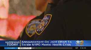 NYPD Announcing New Effort To Address Spike In Suicides [Video]