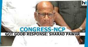 News video: Maharashtra polls: 'Congress-NCP alliance got good response' says Sharad Pawar