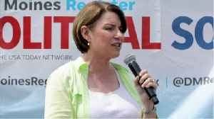 Amy Klobuchar Qualifies For November debate [Video]