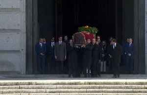 News video: Spain exhumes the body of former dictator Franco