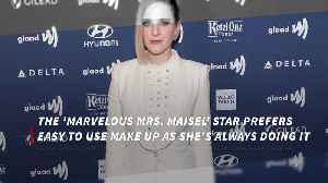 Rachel Brosnahan loves make-up with multiple uses [Video]