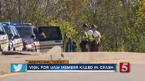 Vigil held tonight for UAW member struck, killed near picket line at GM Spring Hill plant [Video]