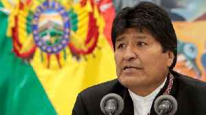 News video: Bolivia's Morales says 'coup in progress' as rivals dispute vote