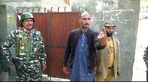India hold local vote in Kashmir despite lockdown, boycott [Video]