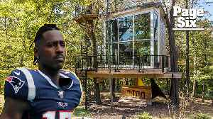 Climb up Antonio Brown's treehouse for $2 million [Video]