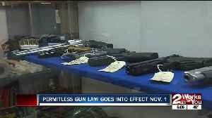 New permitless carry gun law goes into effect Nov. 1 [Video]