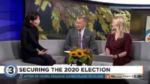 Securing the 2020 election [Video]