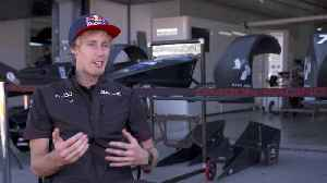 2019:20 ABB FIA Formula E Championship Testing - Interview Brendon Hartley [Video]