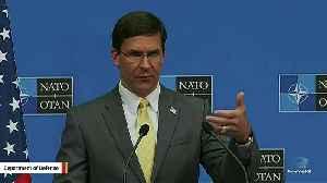 Defense Secretary Mark Esper: US Considering Keeping Some Troops In Syria Near Oil Fields [Video]