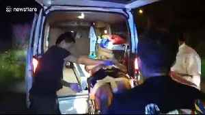 Thai police hunt South Korean man who repeatedly stabbed his friend in car [Video]