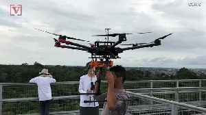 Drones Used in Big Budget Movies Find New Life Exploring Unreachable Parts of the Amazon Rainforest [Video]