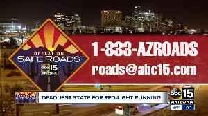 Arizona deadliest state for red-light running [Video]